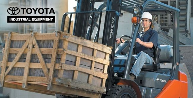 Toyota forklift trade in rebate